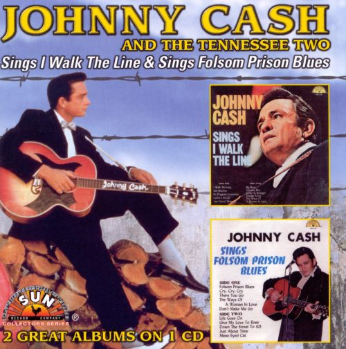 Sings I Walk the Line/Sings Folsom Prison Blues - Johnny Cash | Songs, Reviews, Credits | AllMusic