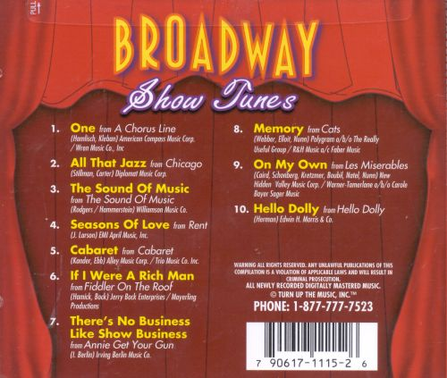 Broadway Show Tunes