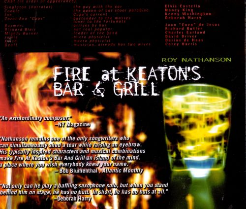 Fire at Keaton's Bar and Grill