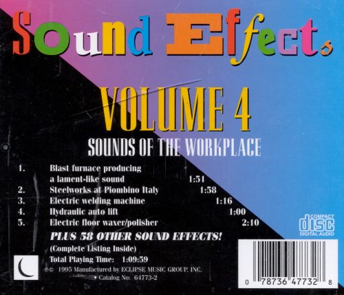 Sound Effects, Vol. 4: Sounds of the Workplace