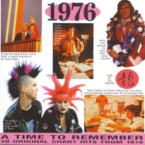 What are some hit songs from 1976?