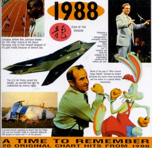 1988 20 original chart hits various artists songs for 1988 hit songs