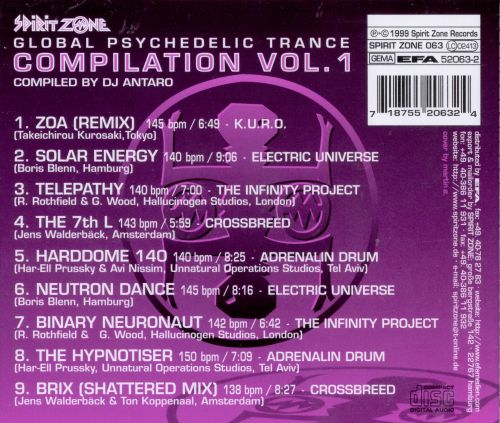 Global Psychedelic Trance, Vol. 1