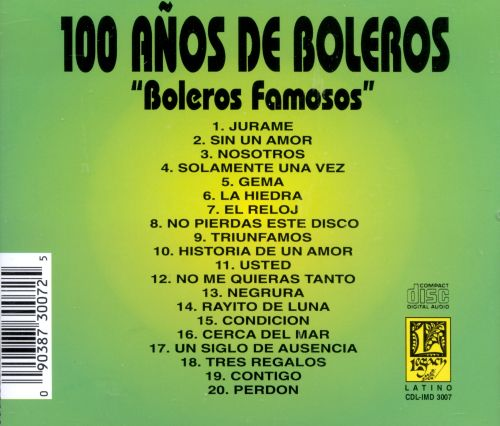 100 Años de Boleros [International]