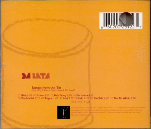 Songs From the Tin
