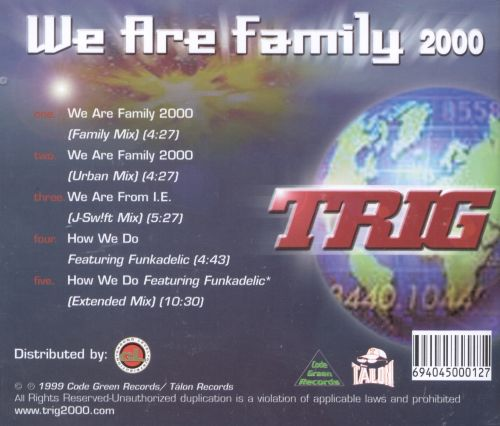 We Are Family 2000