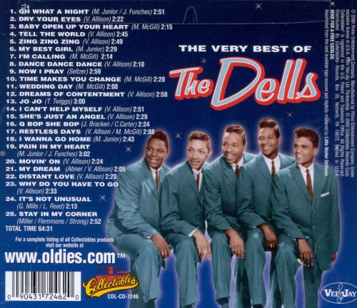 The Oh What a Night: The Very Best of the Dells