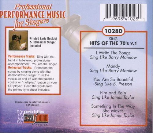 Sing Hits of the 70's