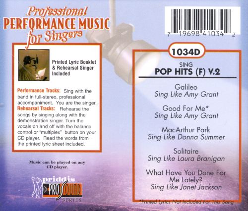 Sing Pop Hits Vol. 2