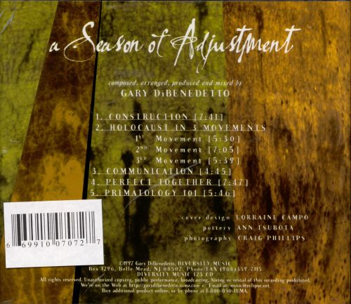 Season of Adjustment