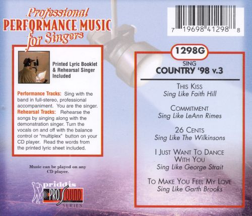 Sing Country '98 Vol. 3