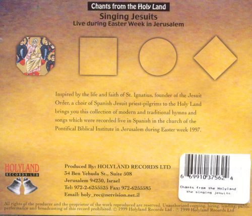 Chants From the Holy Land Vol. 10