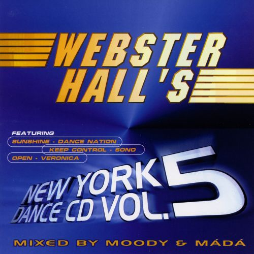 Webster Hall's New York Dance CD, Vol. 5