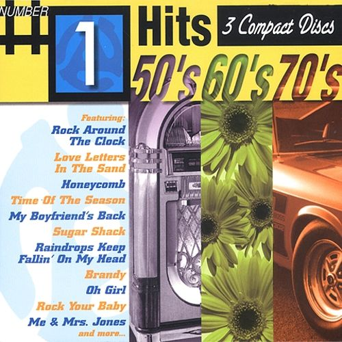 Number 1 Hits 50's 60's & 70's