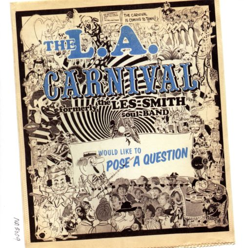 Would Like to Pose a Question - L.A. Carnival | Songs, Reviews ...