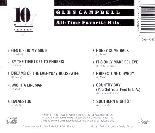 All-Time Favorite Hits [Capitol Special Markets]