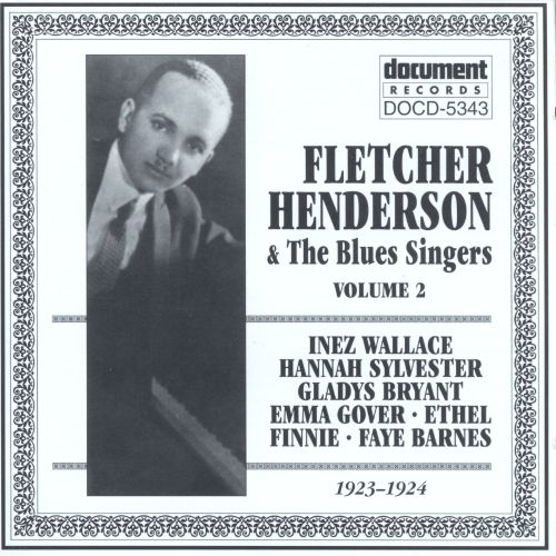 Fletcher Henderson with the Blues Singers, Vol. 2 (1923-1924)