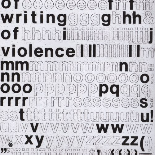 Of Writing/Of Violence
