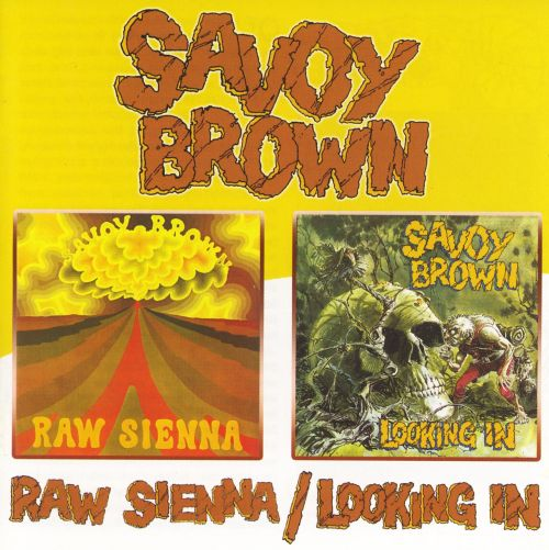 Raw Sienna/Looking In