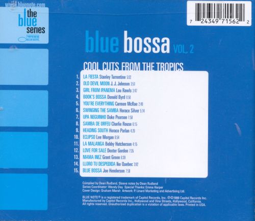 Blue Bossa, Vol. 2