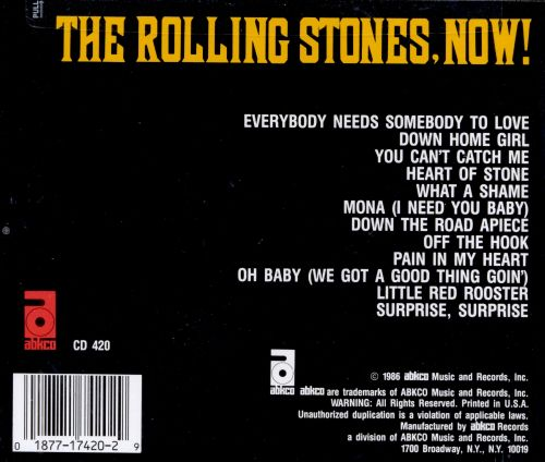 Image result for ROLLING STONES NOW