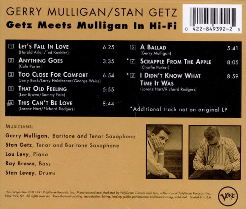 Dick Parry additionally Artist Roberto Magris moreover Annie Ross 375023 W further Article 29209977 likewise Getz Meets Mulligan In Hi Fi Mw0000675227. on gerry mulligan albums