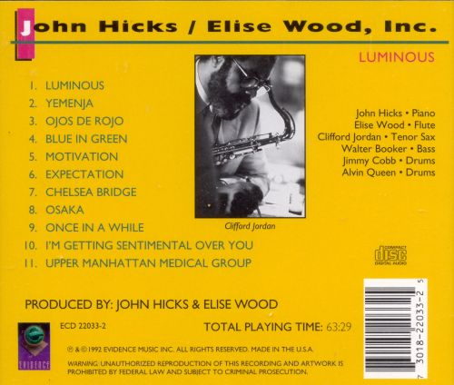 review of john hicks article a Jazz news: stljn audio archive: john hicks - hells bells  bells, the very first  session recorded as a bandleader by the late pianist and former st louisan john  hicks  photos articles discography links  cd/lp/track review, charts of  elegance, compare & contrast, confessions of a piano player.