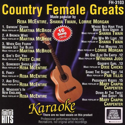 Country Female Greats