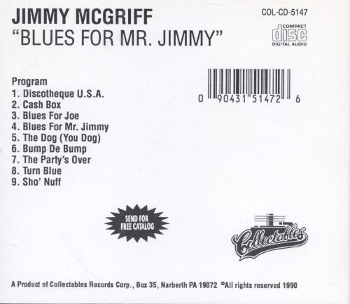 Blues for Mister Jimmy