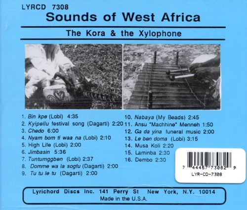The Kora & the Xylophone: Sounds of West Africa