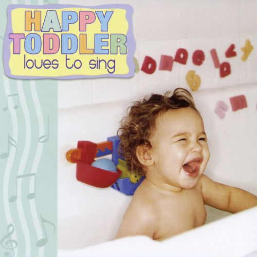 Happy Toddler Loves to Sing