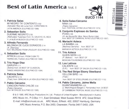 The Best of Latin America, Vol. 1