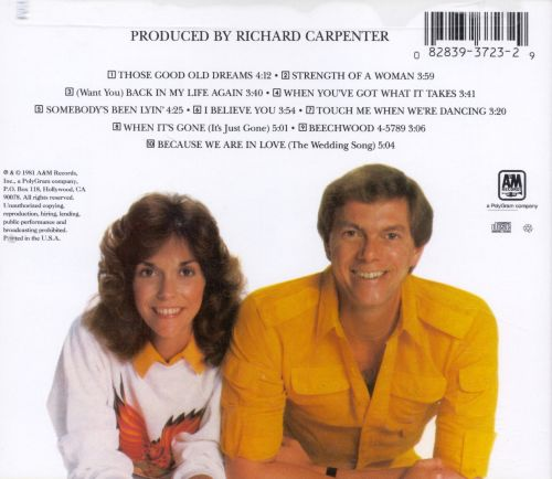 Richard Carpenter Wedding