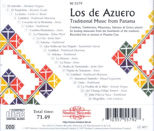 Traditional Music from Panama