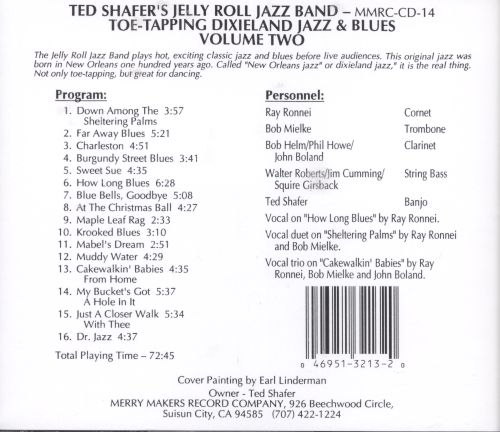 Toe Tapping Dixieland Jazz, Vol. 2