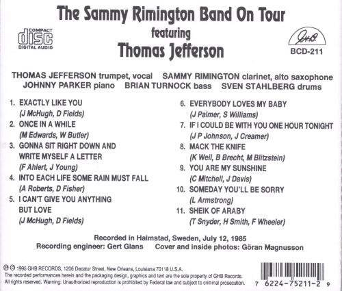 On Tour With T. Jefferson
