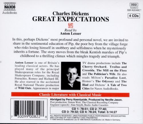 Great Expectations [Book on Disc]