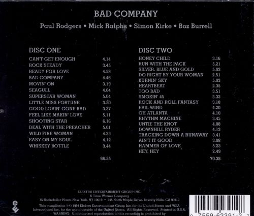 The Original Bad Company Anthology