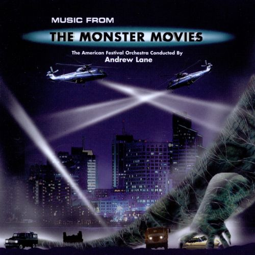 Music From the Monster Movies & Super Heroes Too