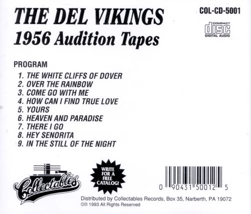 1956 Audition Tapes