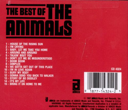 The Best of the Animals [Abkco]