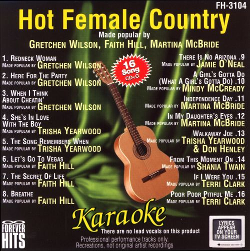 Forever Hits Karaoke: Hot Female Country