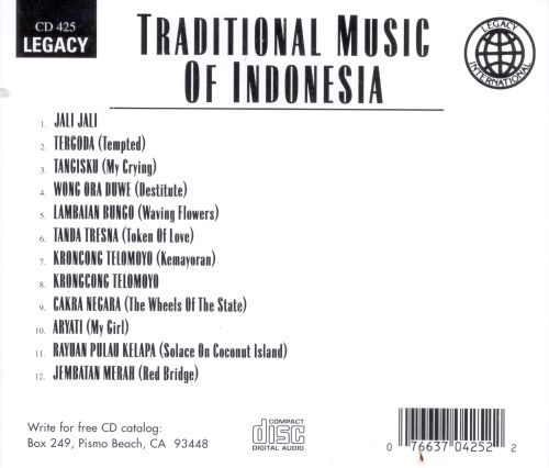 Traditional Music of Indonesia