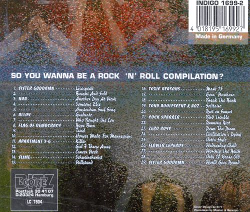 So You Wanna Be a Rock N Roll Compilation