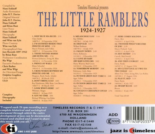 Little Ramblers 1924-1927