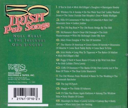 50 Irish Pub Songs