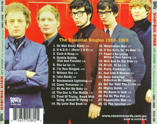 Manfred Mann discography - Wikipedia