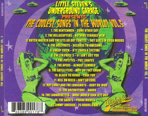 The  Coolest Songs in the World, Vol. 5