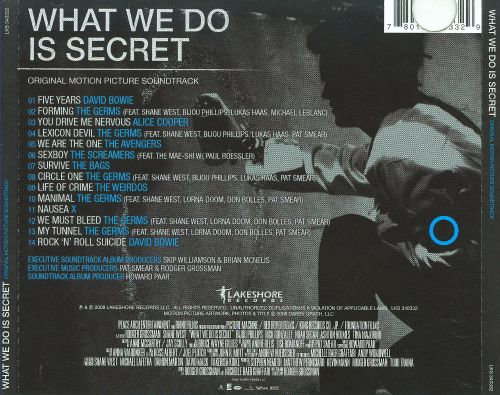 What We Do Is Secret [Soundtrack]