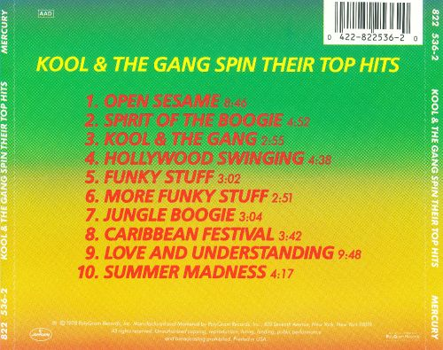 Kool & the Gang Spin Their Top Hits